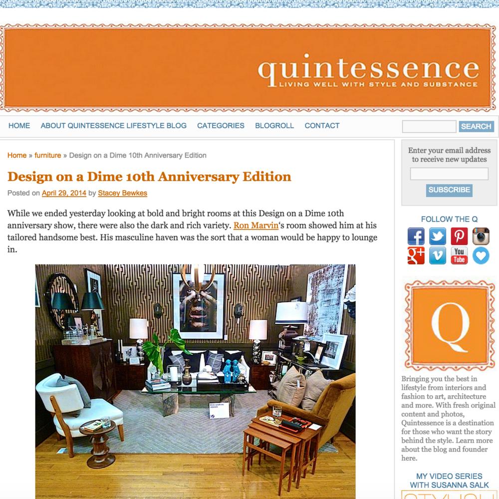 Quintessence April 2014