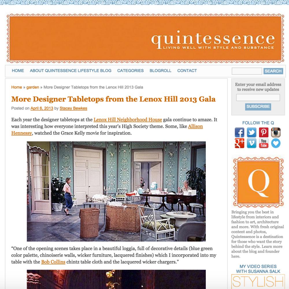Quintessence April 2013