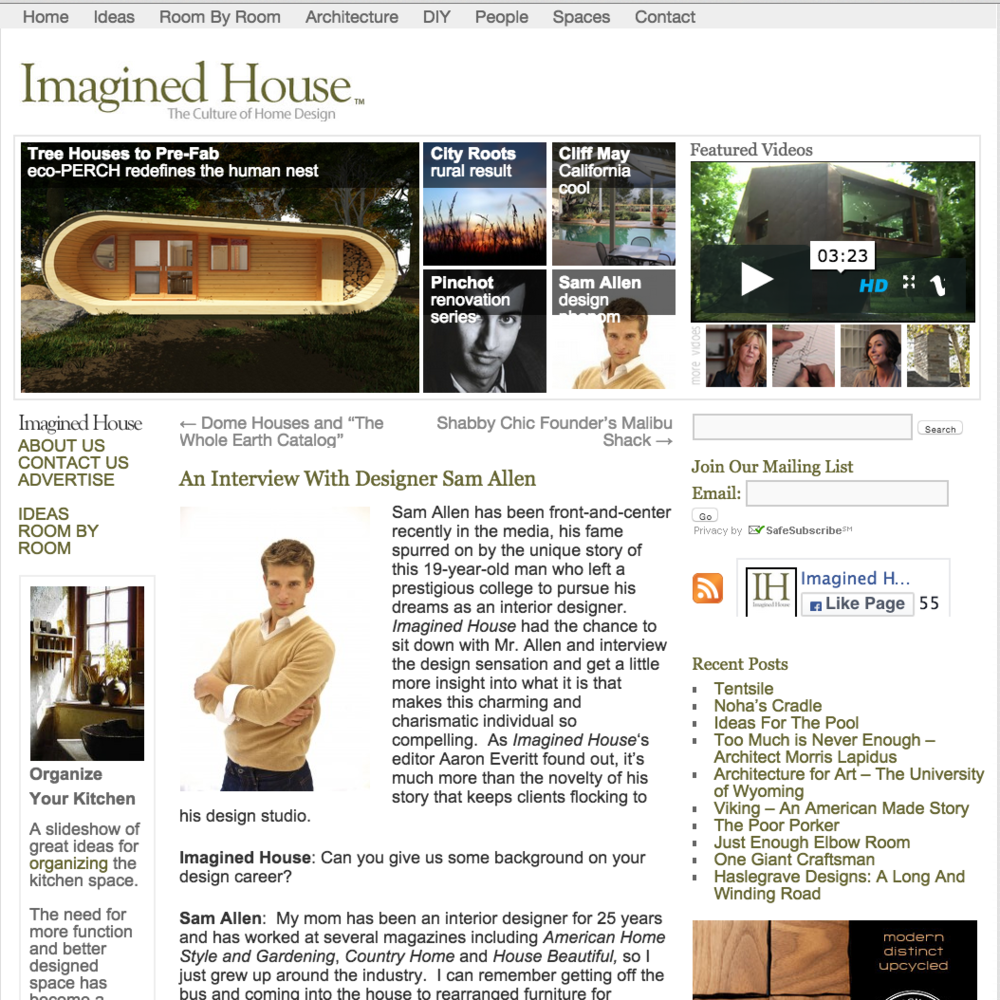 Imagined House January 2012