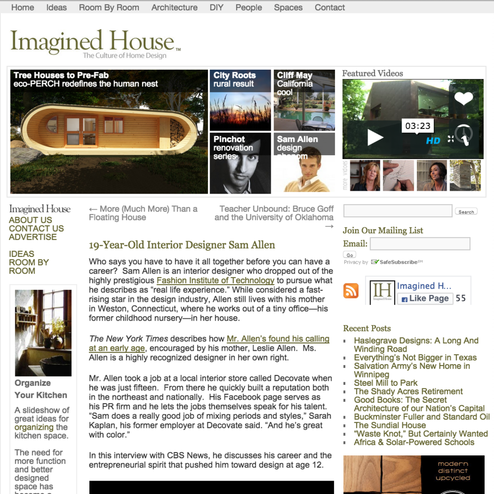 Imagined House December 2011