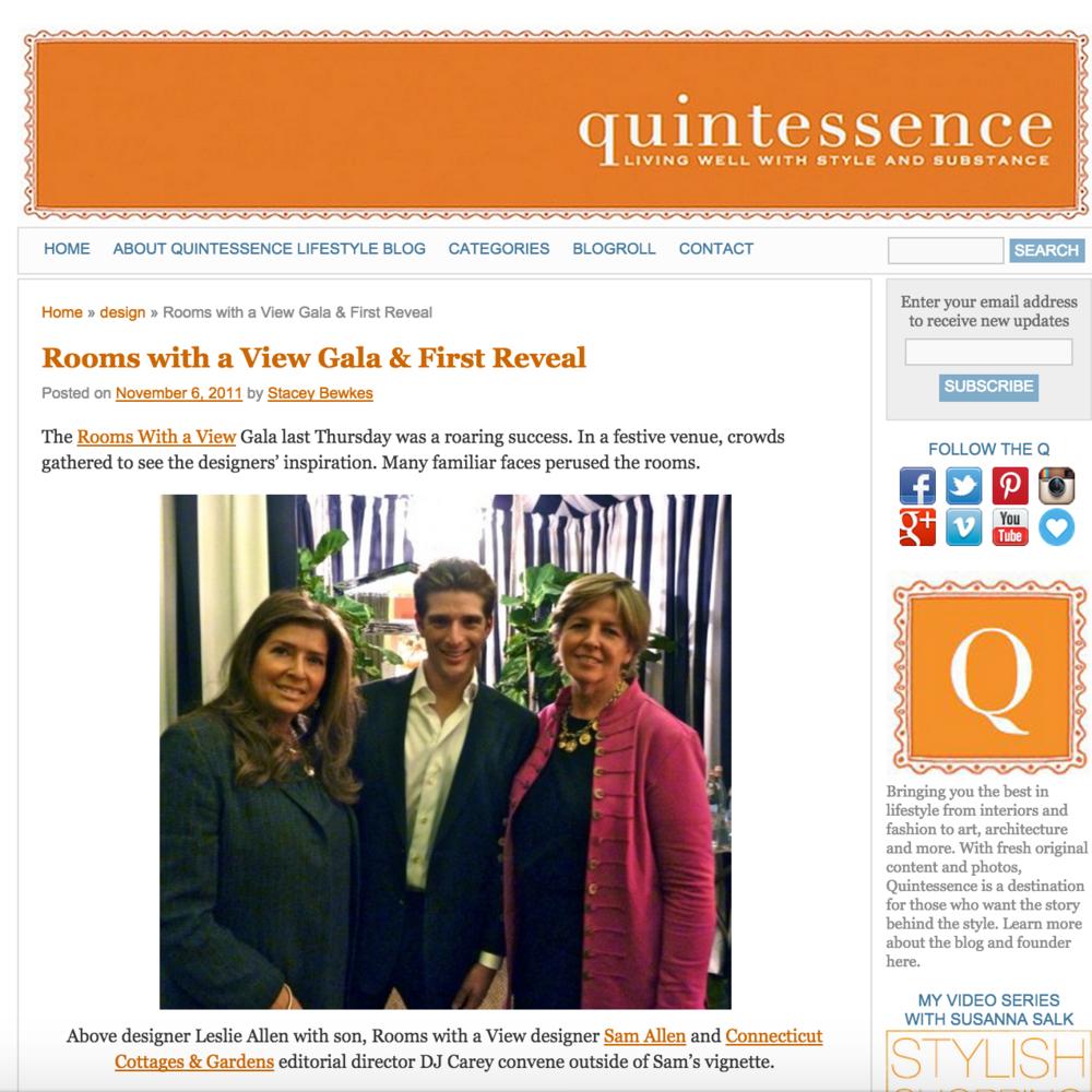 Quintessence November 2011