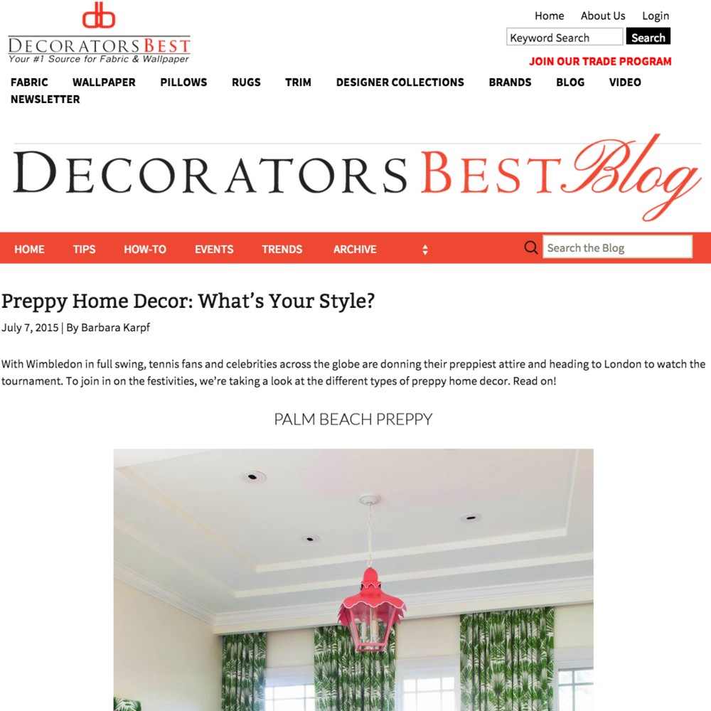 Decorators Best July 2015