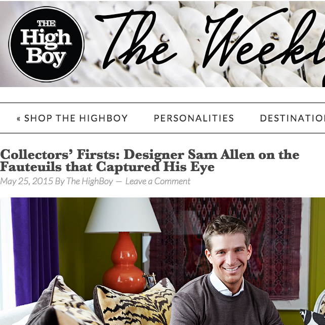The High Boy May 2015