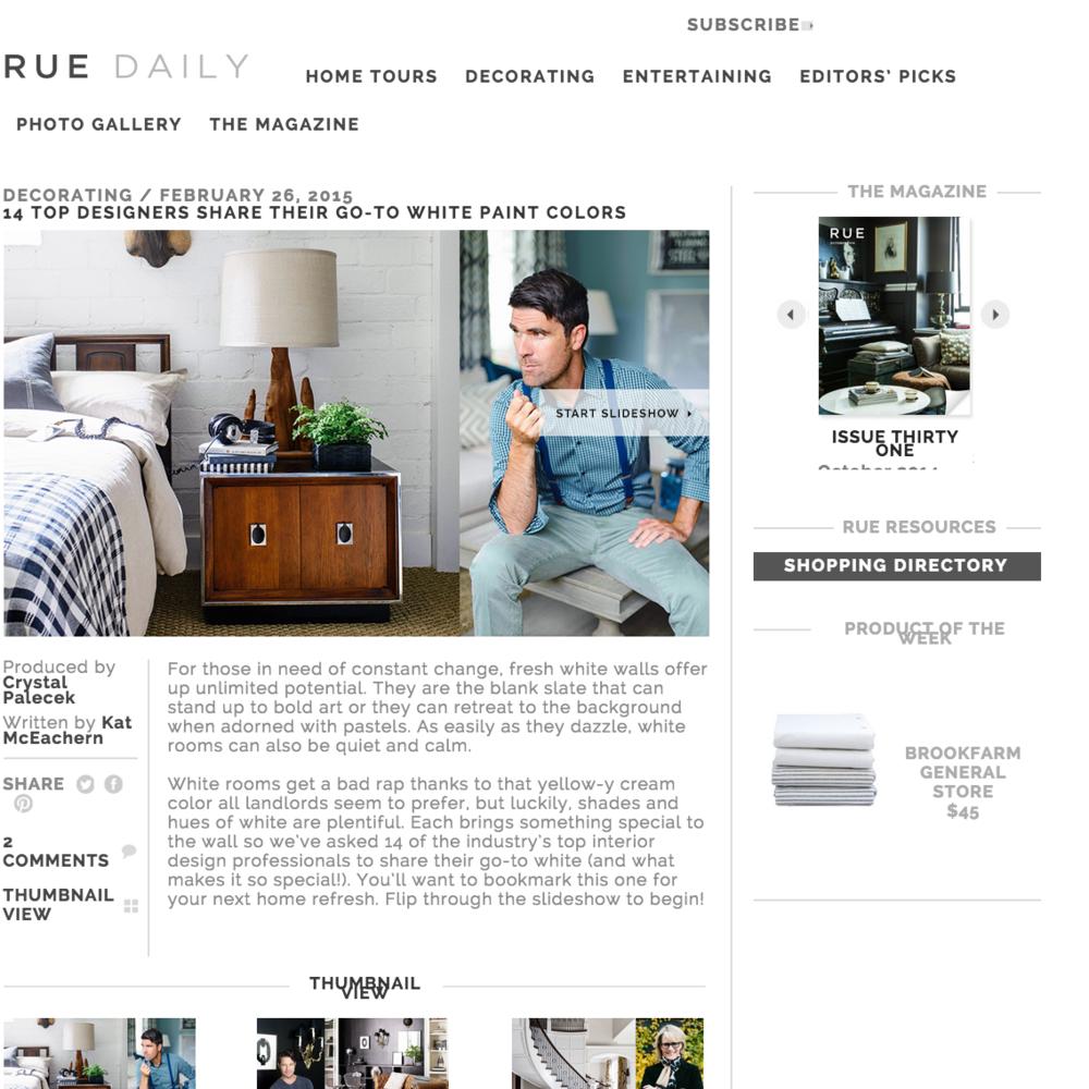Rue Mag February 2015