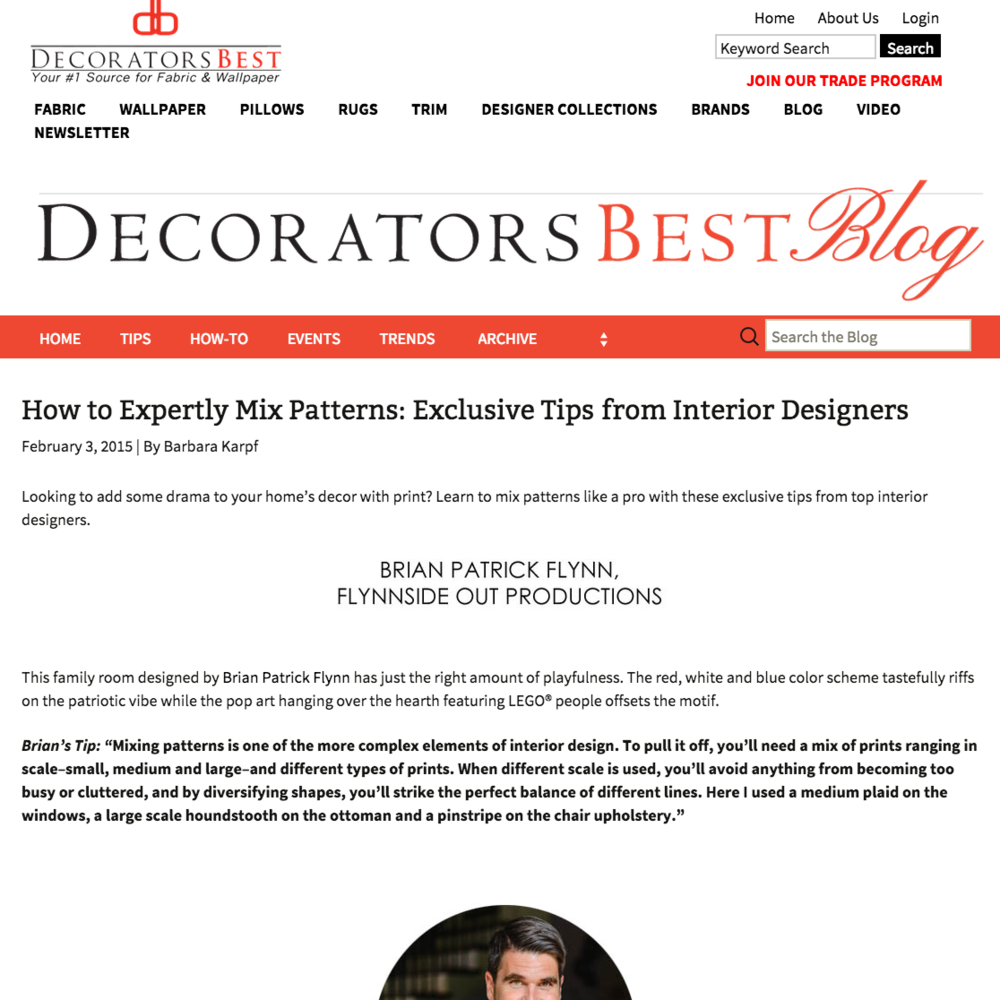 Decorators Best Blog February 2015