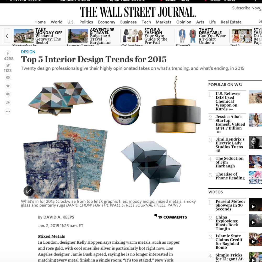 Wall Street Journal January 2015