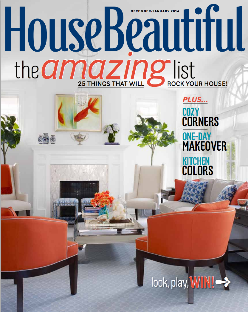 House Beautiful Dec/January 2014