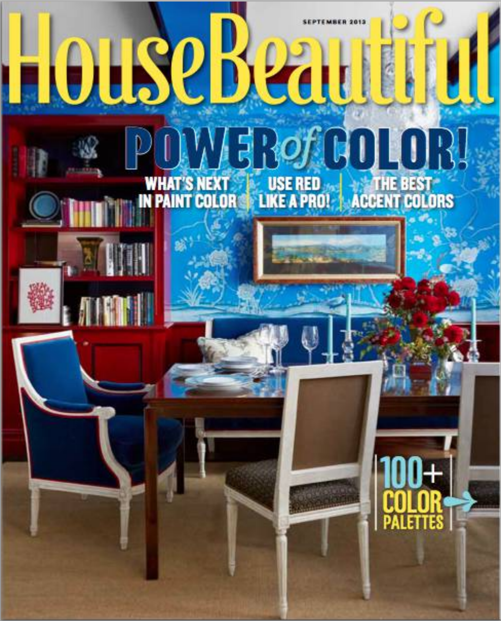 House Beautiful September 2013