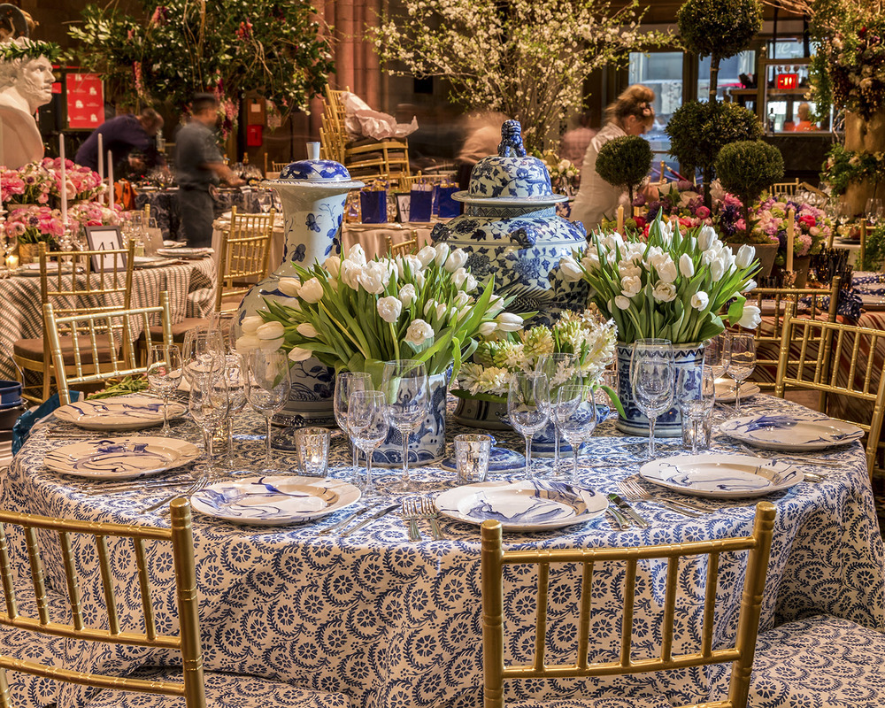 Lenox Hill Spring Gala Table 2015 2014 2013 Sam Allen Interiors