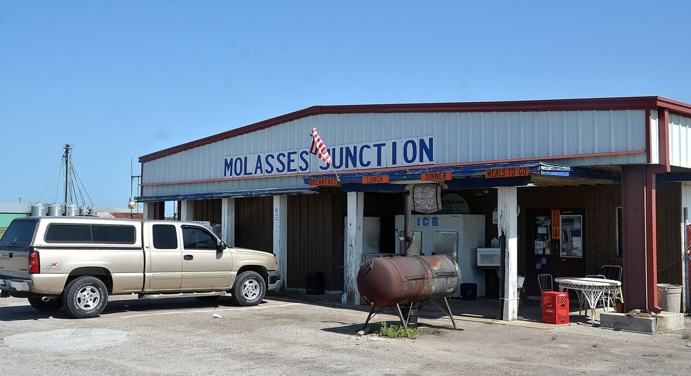 The Record photo/ Peter Willott  T he Molasses Junction Country Store, on County Road 214 west of St. Augustine, has been service the farming communities of south St. Johns County since 1952.