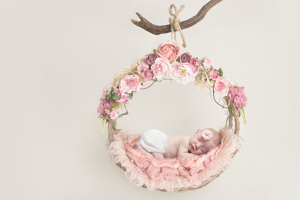 Woodland Swing Hammock Floral 2 - Lilley Belle Couture.jpg