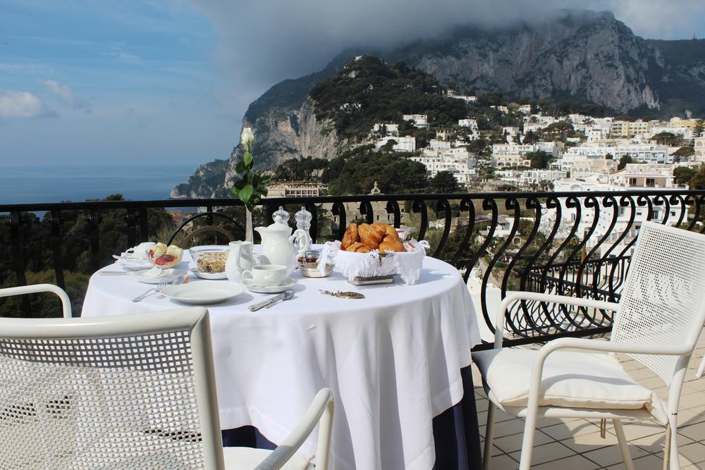 capri breakfast hotel la scalinatella italy boutique amalfi coast