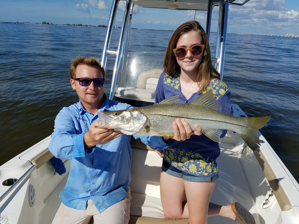 Fishing charters are a great activity for families.