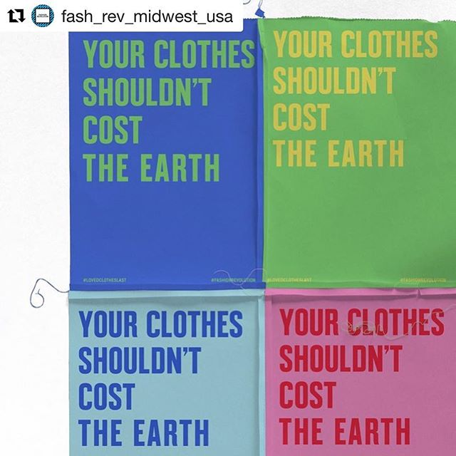 "Today we kick off a week of action and change pushing for more transparency and environmental awareness within the fashion industry. Starting this year on #EarthDay, we recognize the impact this industry has on the world around us and have signed the @UNFCCC's Fashion Industry Charter for #ClimateAction. Learn more about this important agreement below via @fash_rev! ------------ Today, #EarthDay, marks the start of #FashionRevolution week 2019. 💚💚💚💚💚 To kick off our week of activism and change, Fashion Revolution is declaring a Climate Emergency. Today we have signed the @UNFCCC's Fashion Industry Charter for #ClimateAction ""Global Climate Action"" is an agreement for fashion brands, media outlets, suppliers, retailers and all other fashion stakeholders to urgently take action in line with the goals of the Paris Agreement. . .  The science is clear, climate breakdown is happening fast - and the fashion system is a major contributor to global carbon emissions, pollution, water contamination, mass extinction and so many other elements that hinder a healthy planet. . .  As an organization, we pledge to do our part to address fashion's footprint, both in the way clothing is produced, and the collective fashion consumption patterns of our Fashion Revolution community. . .  If we are to really address the magnitude of fashion's impact, we must remember that the most sustainable clothing is that which we already own. By extending the lifecycle of our garments by 9 months, we would reduce carbon, waste, and water footprints by 20 - 30%. This Fashion Revolution week, it's as important to ask #WhoMadeMyClothes as it is to remember that #LovedClothesLast. . . . #fashrevusa #fashrev #whomademyclothes #imadeyourclothes #earthday2019"