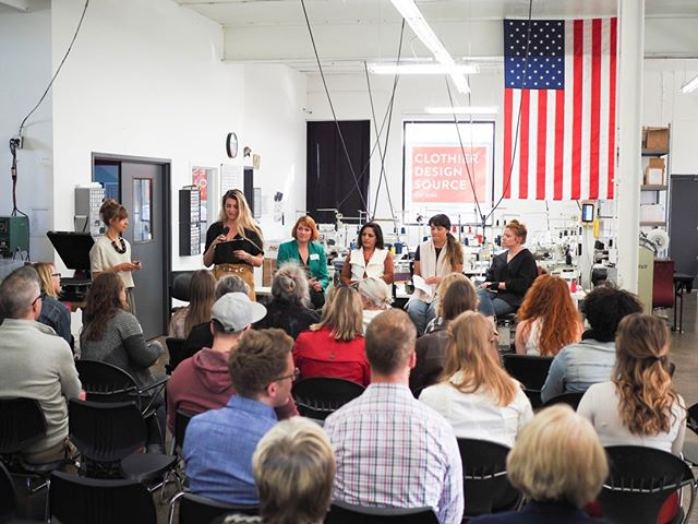 Last years #FashionRevolution event was such a success! We look forward to discussing ethical manufacturing with you this year.  Tickets are still available - click the event bright link in our profile to attend. ⠀⠀⠀⠀⠀⠀⠀⠀⠀ ⠀⠀⠀⠀⠀⠀⠀⠀⠀ ⠀⠀⠀⠀⠀⠀⠀⠀⠀ #madeinusa #madeinmn #onlyinmn #communityovercompetition #createcultivate #makeitminnesota #entrepreneurlife #techdesign #etchicalfashion #smallbusiness #productdevelopment #madeinamerica #seminar #ethicalfashionforum #forum #education #alwaysbelearning #madelocal #fashiondesign #fashionstartup #ecofashion#whomadeyourclothes #imadeyourclothes #sweatshopfree #ethicallymade #sustainablefashion #fashionrevolution #slowfashionblogger #appareldesign