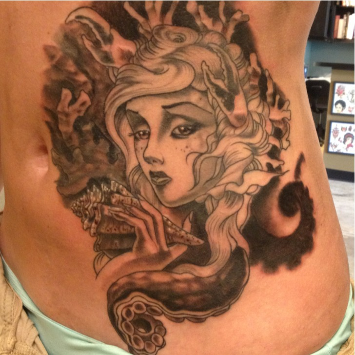 Big cover up in progress.