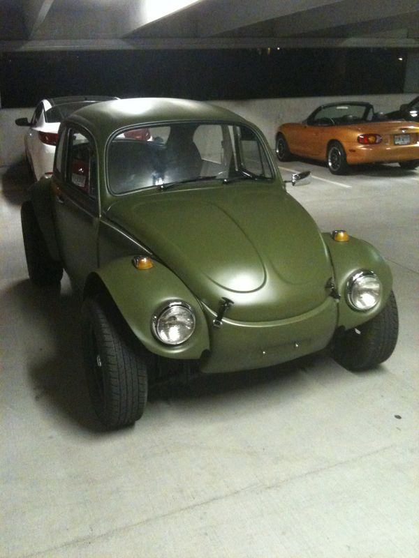 I got my bug back.  Meaner and greener.