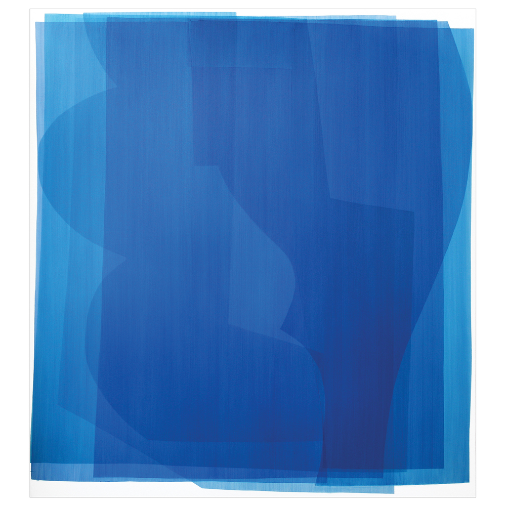 imon Degroot Untitled Blue 2016. Oil on canvas. 167x183cm.
