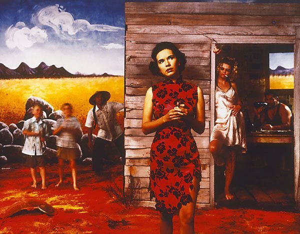 Tracey Moffatt Something More #1 1989. Museum of Contemporary Art, purchased 1992. Type C photograph in frame. 100cm x  130cm