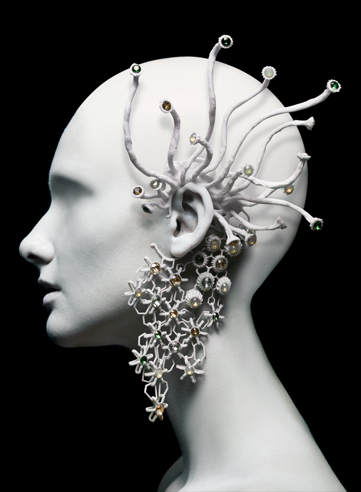 002-Melinda-Looi-2015-3D-Printed-Collection-fashion-gems-of-the-ocean-materialise-couture-corals-swarovski-ear-piece-earring-malaysia.jpg