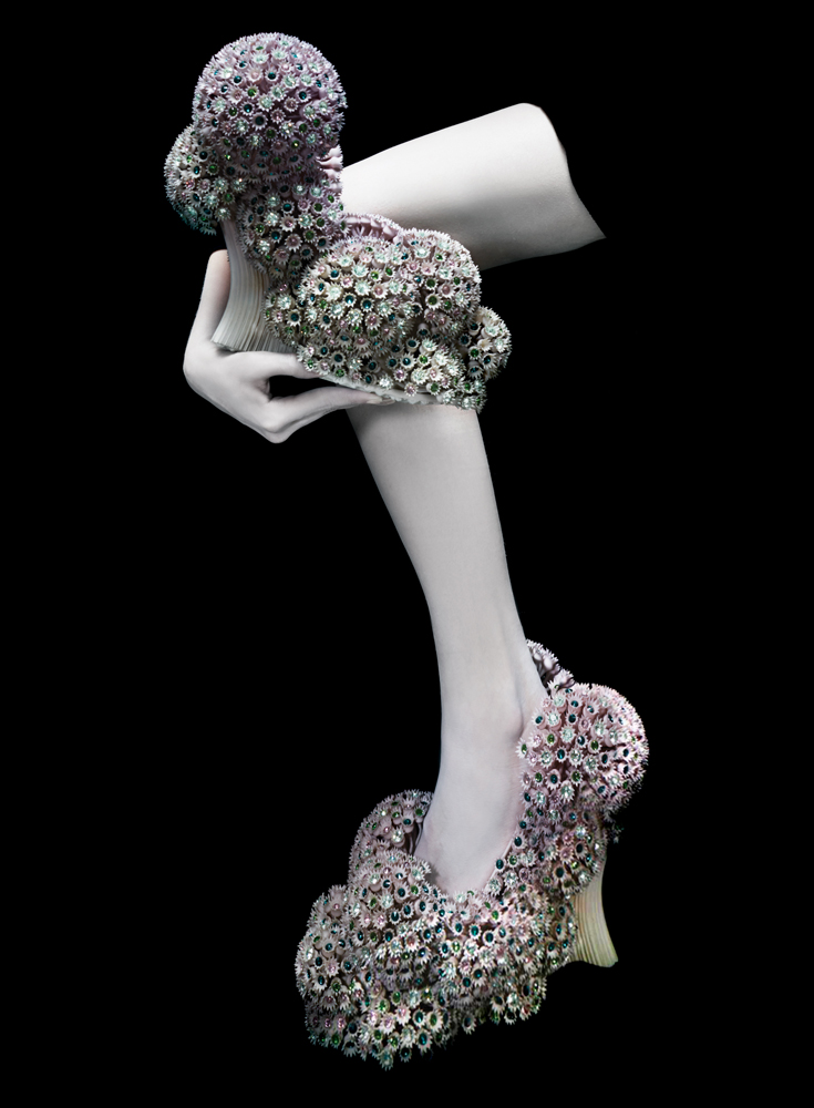 005-Melinda-Looi-2015-3D-Printed-Collection-fashion-gems-of-the-ocean-materialise-couture-corals-swarovski-shoes-malaysia.jpg
