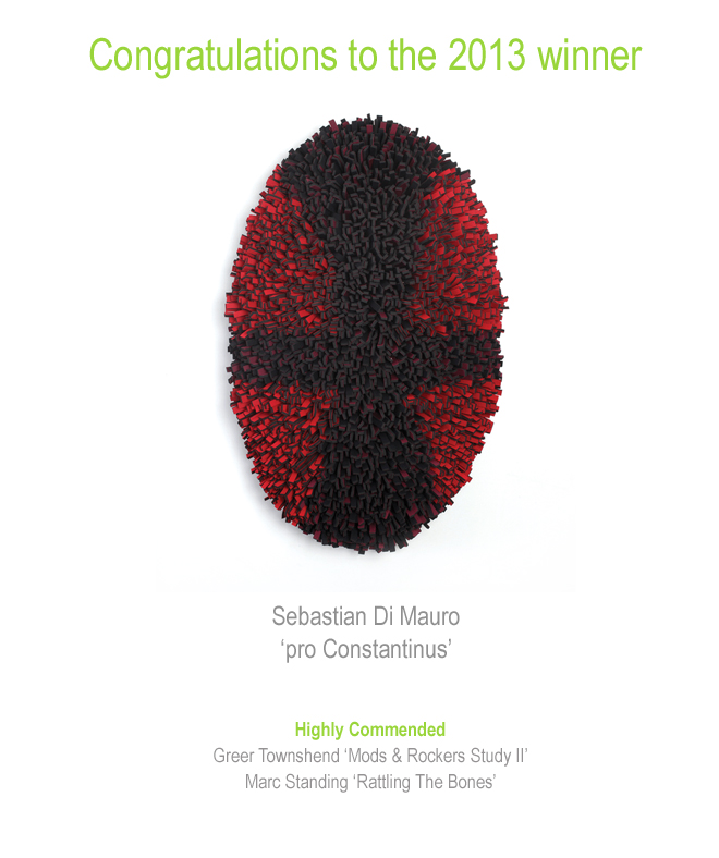 2013 Prize Winner Sebastian Di Mauro