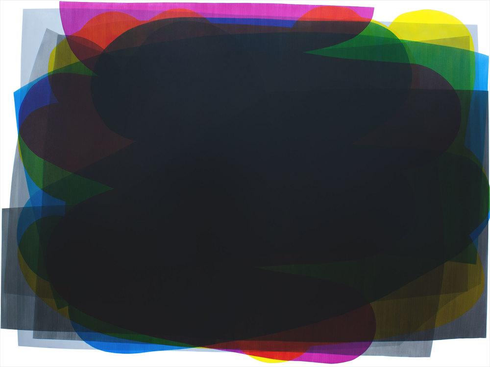 Simon Degroot,  Picture Building  (2016) oil on canvas, 183 x 244cm