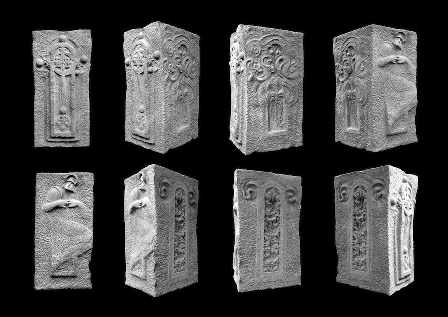 Adis Elias FejzićB&Hierophany @terraAvstralis.MMXIII 2016.Sandstone sculptures.