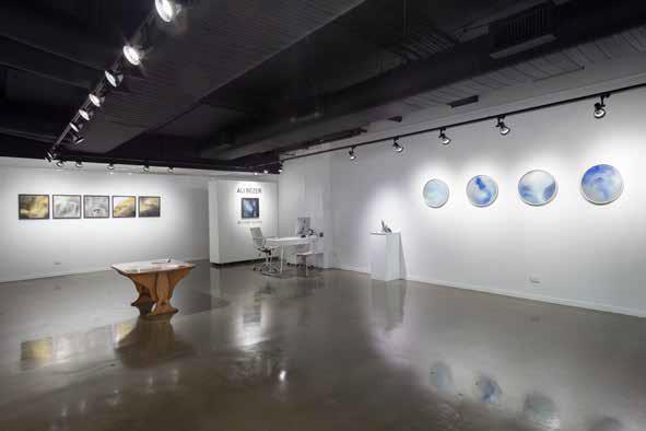 Ali Bezer Installation view of solo exhibition  Beyond Sound  2015
