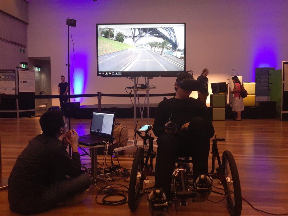 VR-Rides: Interactive VR Games for Health  (Kiran Ijaz, Yifan Wang, David Milne, and Rafael A. Calvo)