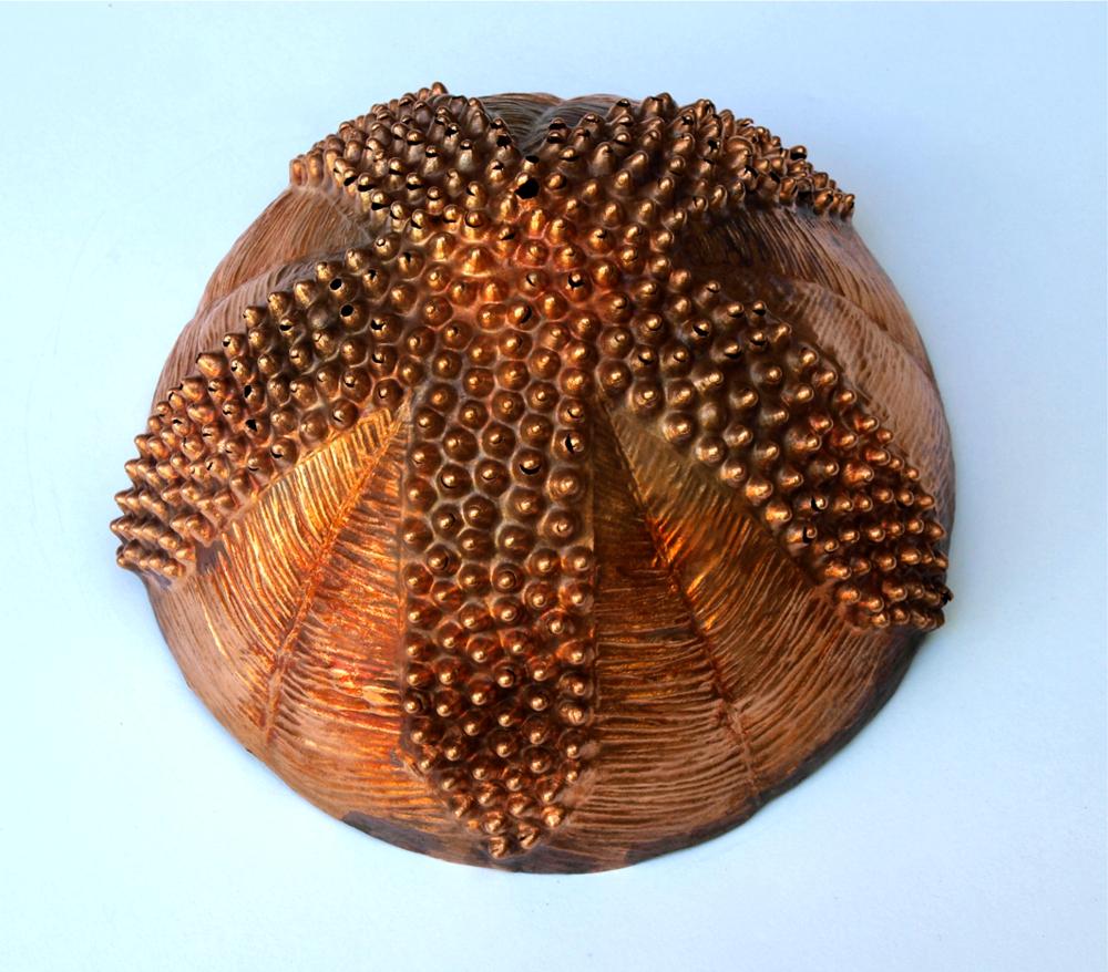 Alicia Lane,  Crows Ash  , 2015, copper, sound. 13cm x 6cm.