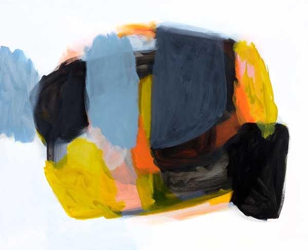 Michael Cusack  Ashgate 2014, Mixed media on linen 137 x 168 cm