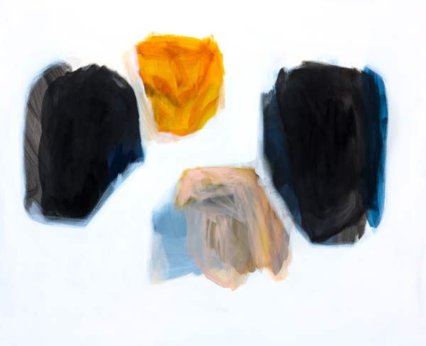 Michael Cusack  Coba 2014, Mixed media on canvas 137 x 168 cm