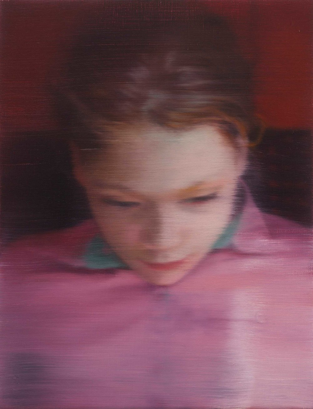 Ella  (2007), Private Collection © Gerhard Richter 2017.