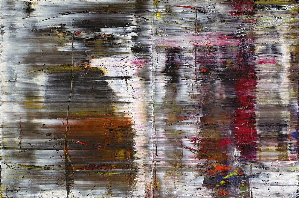 Gerhard Richter, Germany b.1932 / Abstract painting (726) 1990 / Oil on canvas / 2 canvases / Collection: Tate. Purchased 1992 / © Gerhard Richter 2017.
