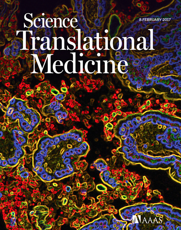Cover Story at STM: Linking mucosal immunity and inflammation.