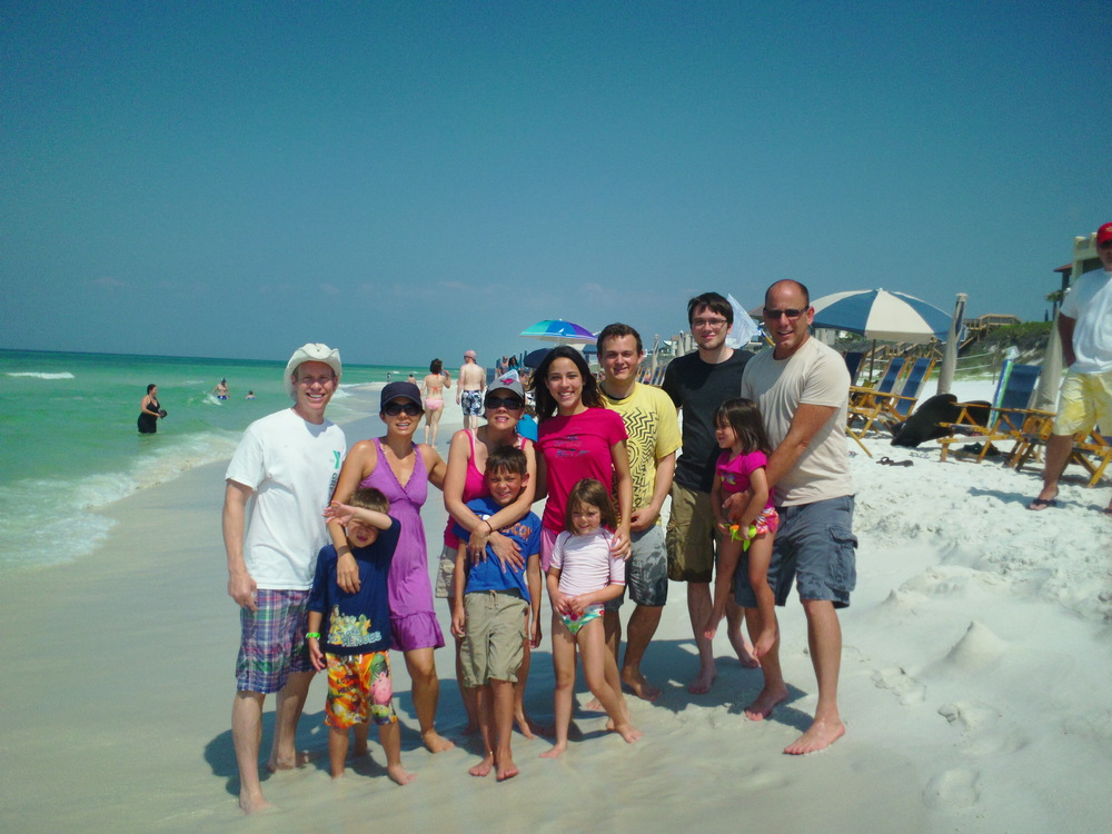 Family at Beach with Granny.JPG