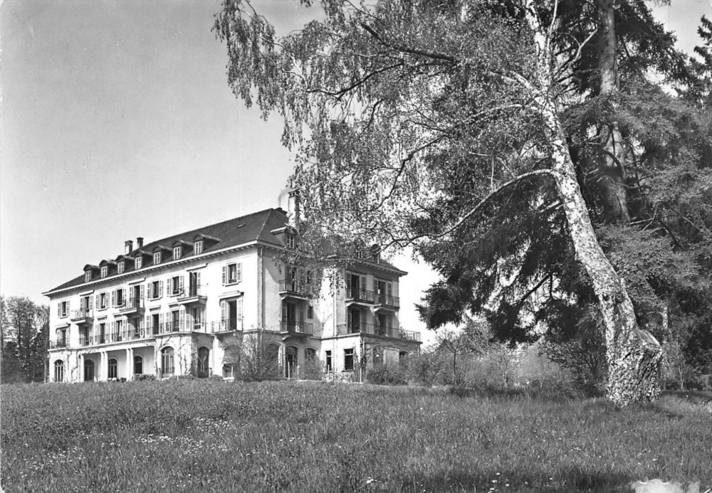 Les Rives de Prangins Clinic, Switzerland:  Photograph courtesy of delcampe.net