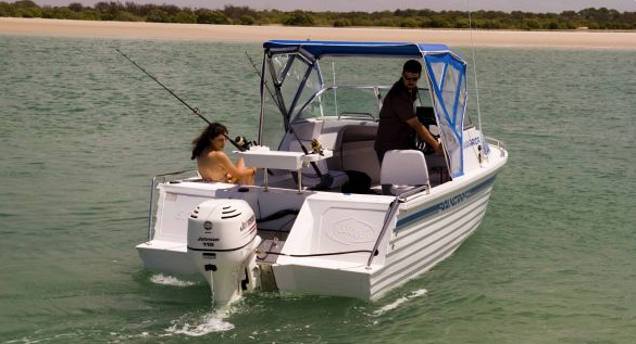 6 Man Polycraft Warrior / Ultimate 5.3m 115HP Boat Licence Required