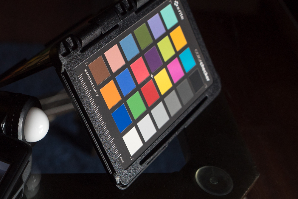 Xrite ColorCheck Passport.
