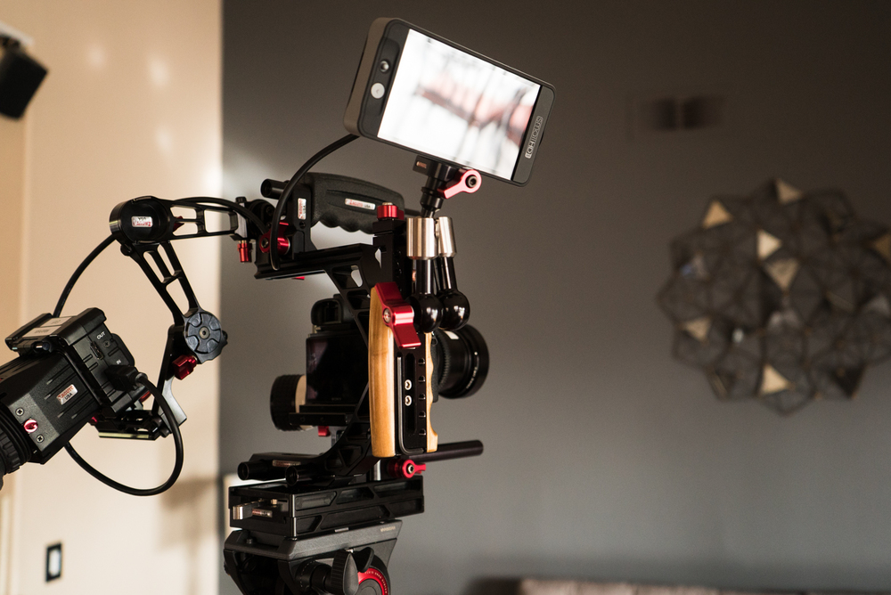 SmallHD 502 on a Zacuto Recoil Rig