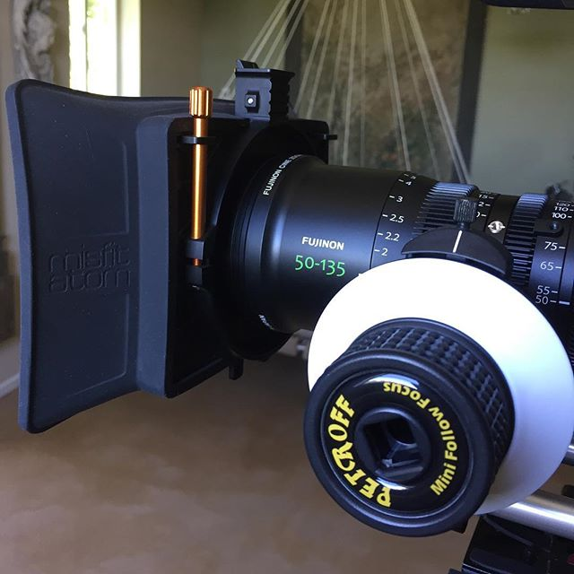 Amazed with this @fujifilm_optical 50-135 #cinemazoom . . . . #fujifilm #fuji #zoom #bts #behindthescenes #zacuto #ineedzacutoscissorlenssupport