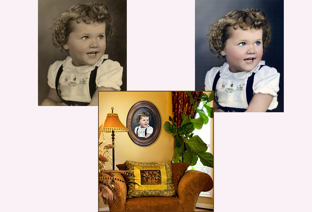 Restoration of Old Photo, Giclee Printing and Framing at Thomas Canny Studio.jpg