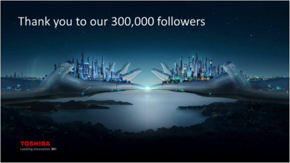 TSC's LinkedIn page surpasses 300,000 followers (Japanese news release) image:TSC LinkedIn Page