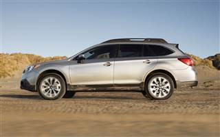 2015 Subaru Outback Product Development