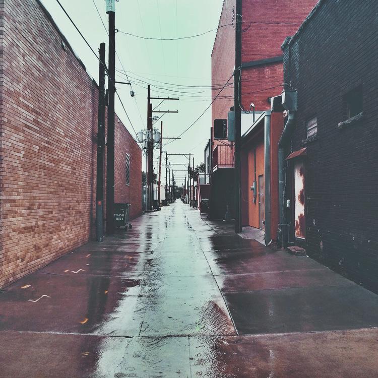 Day 2: Wet morning street