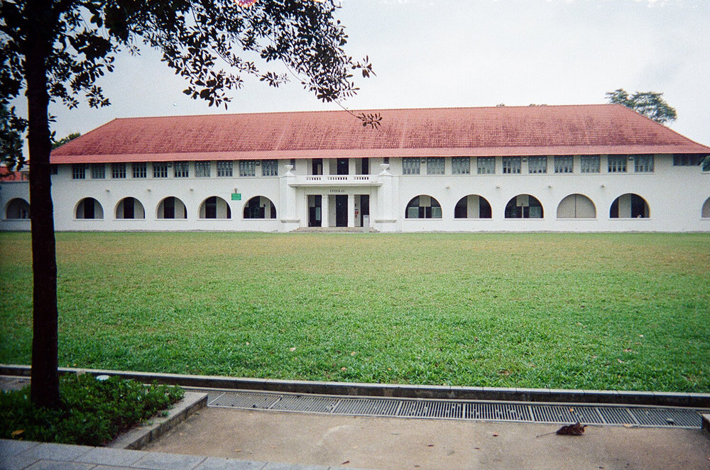 The Federal building in school, and the Upper Quad