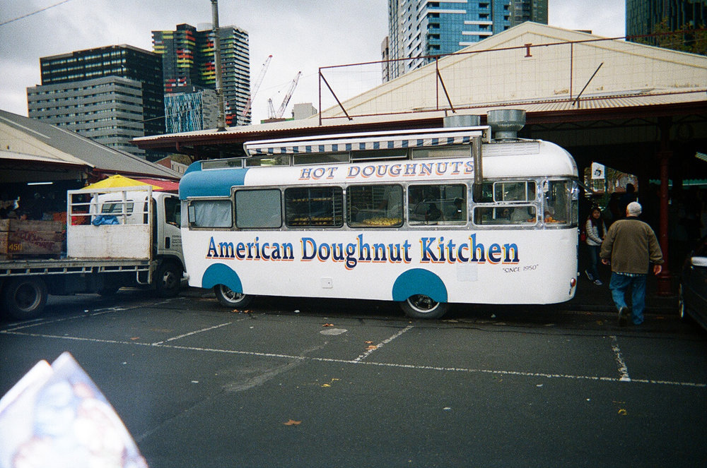 The doughnut truck which revolutionised doughnuts for me - I never knew that doughnuts could be so soft and pillowy.
