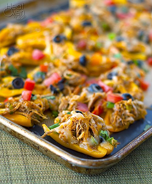 pepper nachos