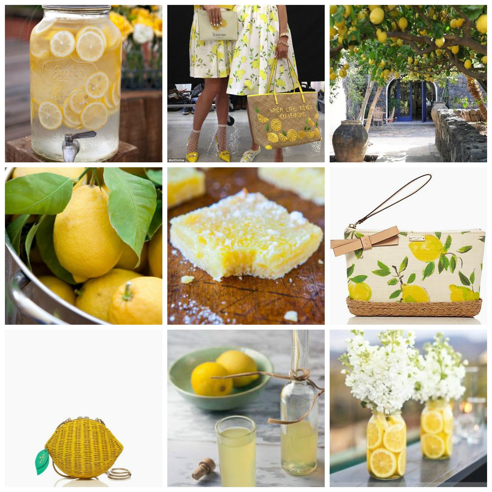 lemon inspiration